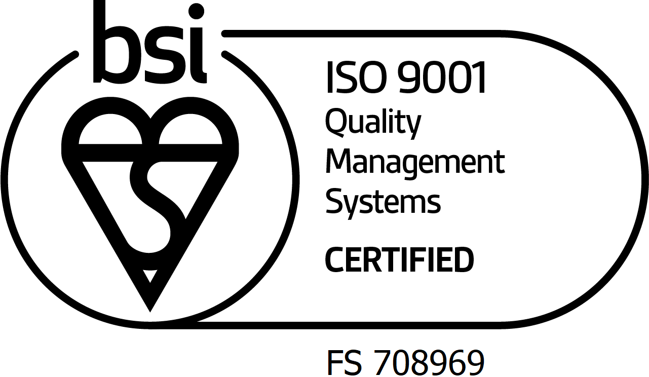 BSI ISO 9001 mark of trust